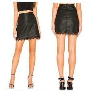 NWT ~ JACK by BB DAKOTA Faux Leather Skirt
